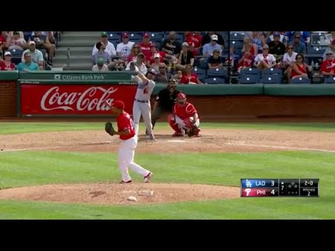 Andre Ethier Crushes His 2nd Homerun of the Season Vs Phillies