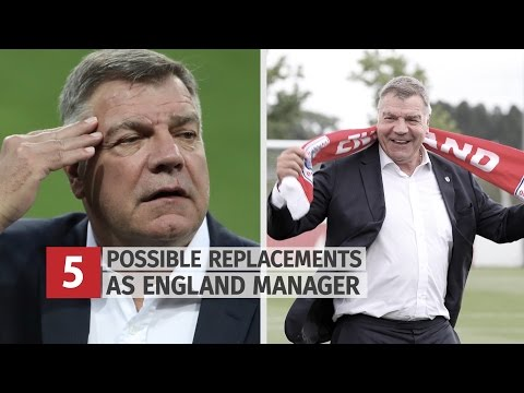5 Possible Contenders To Replace Sam Allardyce As England Manager