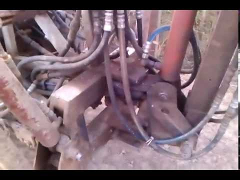 Видеозапись Самодельный   мини экскаватор