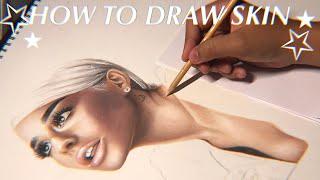 How To Draw Skin/Tutorial - j.claudiio