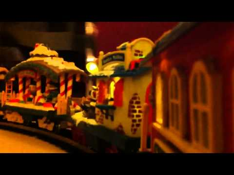 The Holiday Express Animated Train Set Ride Along