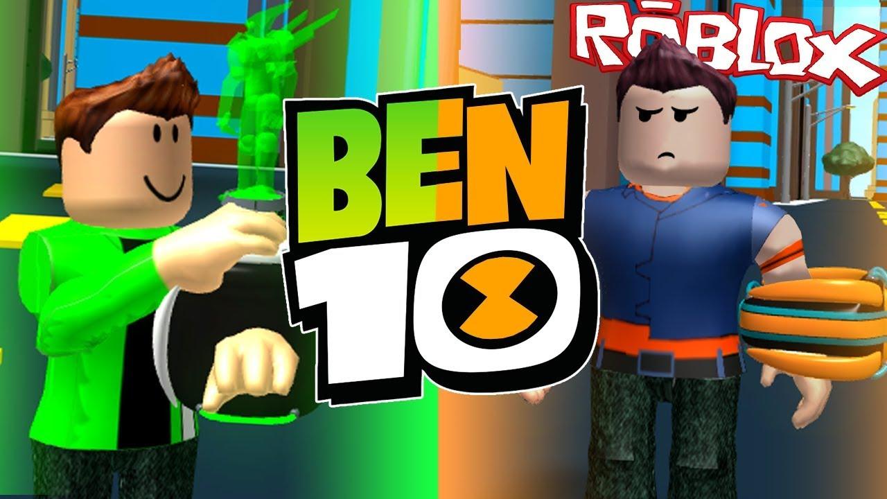 roblox games ben 10