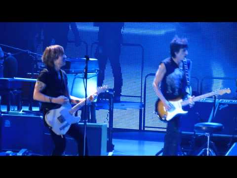 The Rolling Stones & Keith Urban - Respectable - Staples LA 2013/05/03
