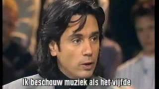 Jean Michel Jarre @ Woensdagavond met van Willigenburg Interview (1991) Deel 1