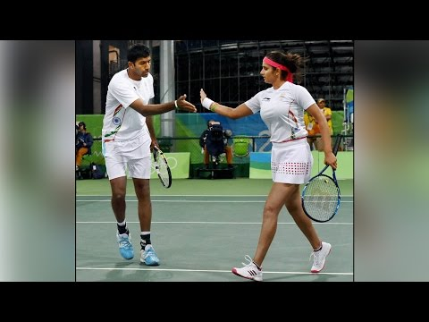 Sania Mirza-Rohan Bopanna enter mixed doubles semis in Rio Olympics 2016| Oneindia News