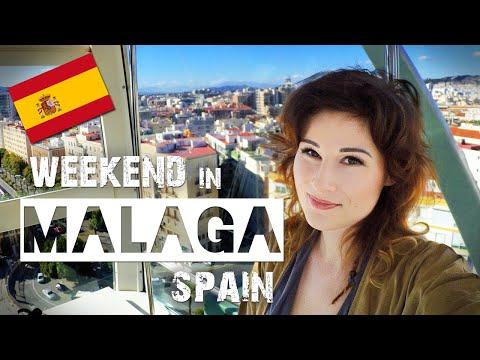 Weekend in MALAGA Spain   ZuzArt