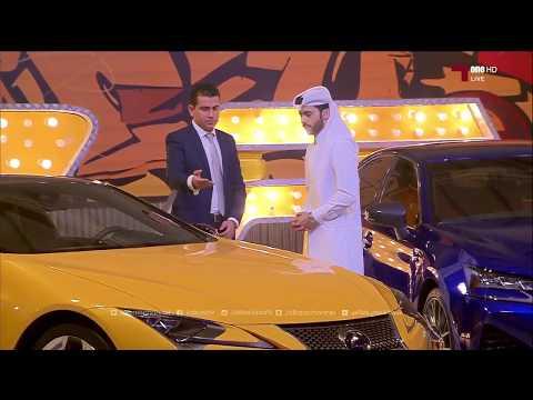 Lexus LC500 at Speed 4 TV Show - Alkass TV