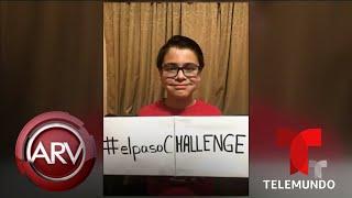 Niño lanza un increíble reto para honrar a las victimas de El Paso | Al Rojo Vivo | Telemundo
