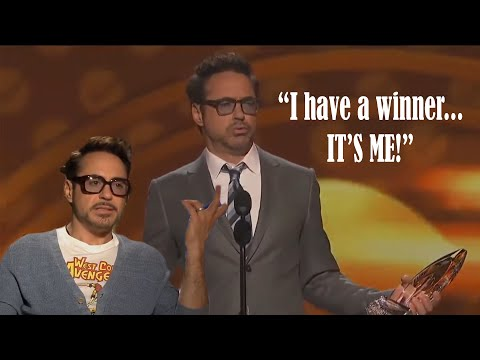 Robert Downey Jr being the COOLEST MAN ON THE PLANET for 11 minutes!