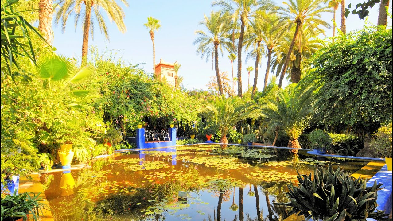 Marrakech tourist attractions 4 jardin majorelle garden for Jardin marrakech