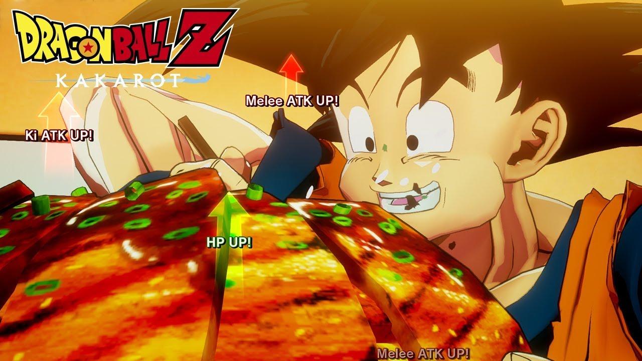 Dragon Ball Z Kakarot Character Progression Ps4 Xb1 Pc Youtube