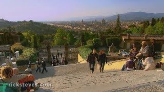 Florence, Italy: Church of San Miniato and Piazzale Michelangelo