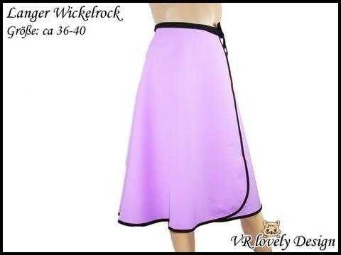 low priced d34af 664d5 Langer Wickelrock - VR lovely Design - Produktvideo