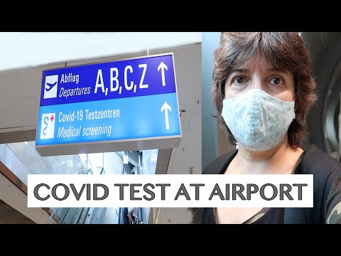 RETURN TO GERMANY FROM HIGH-RISK AREA AND COVID TESTING AT FRANKFURT AIRPORT