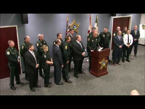 Joint Press Conference - ICE & 17 Florida Sheriffs Announce New Enforcement Partnership