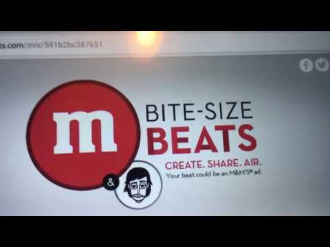 My M&M's Bite-Size Beats Song