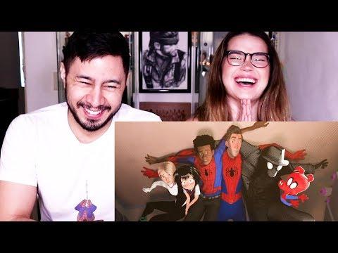 SPIDER-MAN: INTO THE SPIDER-VERSE   Trailer #2   Reaction!