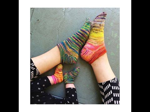Rose City Rollers Sock 編織教學