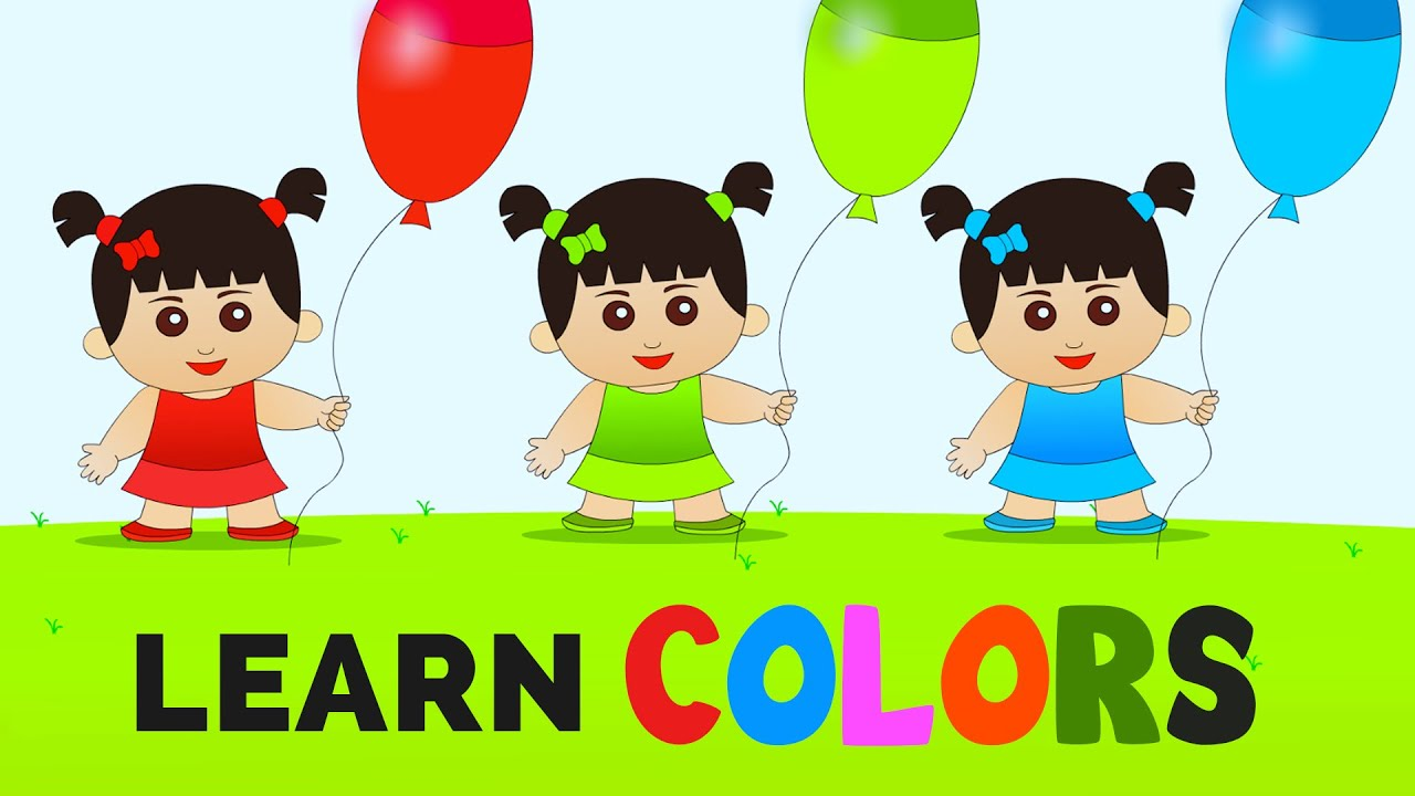 Learn Colors | Balloon Colors Song | Learning Basic Colors for Kids ...