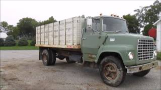 1971 Ford LN600 Custom Cab grain truck for sale | sold at auction October 22, 2014