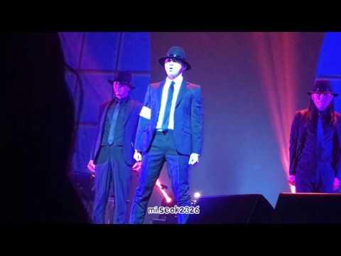 170507 조정석 (Jo Jung Suk) 팬미팅 The Room - Dangerous, Billie Jean & Smooth Criminal dance