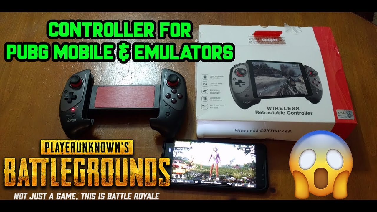 PUBG Mobile Gamepad Controller Joystick | Review and other games | IPEGA