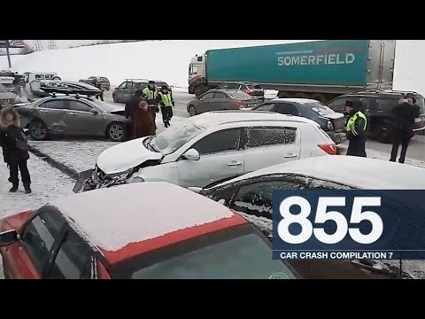 Car Crash Compilation 855 - January 2017