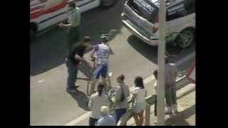 2004 ブエルタ・ア・エスパーニャ 第17ステージ (接触事故?)