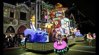 USJの新パレードがスゴい!!「ベスト・オブ・ハリウッド」と題されたナイトパレードのダイジェスト版