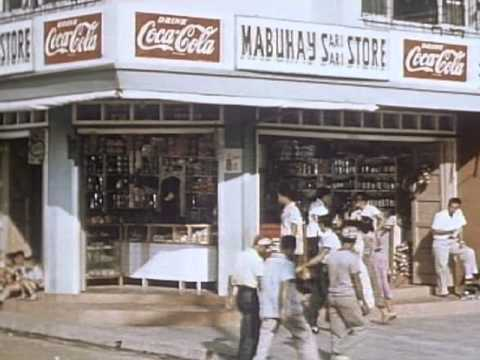 Philippines; Pearl of the Orient 1955 Coca Cola promotion