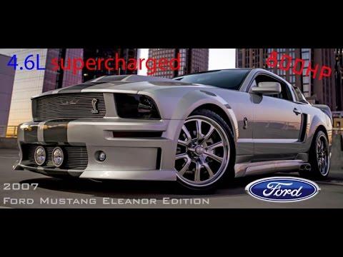 Mustang Eleanor 2007