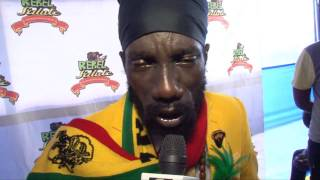 "Sizzla ""Bun\"" Gays, Government & The System"