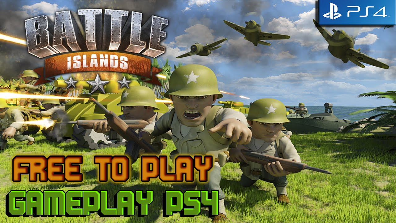 Battle Islands PS4 Gameplay Español GRATIS - YouTube