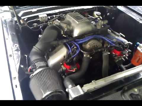 65 mustang with 4 6 cobra motor youtube rh youtube com
