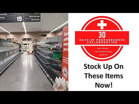 Stock Up On These Items Now!