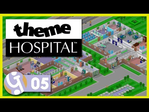💉 X-Rays, Scanners and more! | Let's Play Theme Hospital #05 | Throwback Thursday