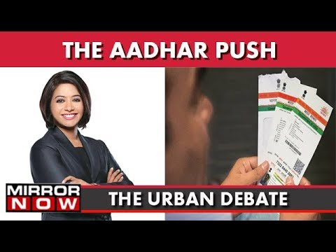The Aadhar Chaos : Link To Mobile Services Mandatory? I The Urban Debate With Faye D'Souza