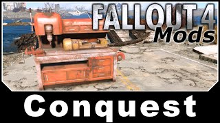 Fallout 4 Mods - Conquest - Build New Settlements and Camping