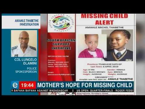 A mother's hope for missing child | eNCA