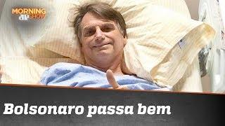 Após cirurgia de emergência, boletim médico diz que Bolsonaro 'passa bem'