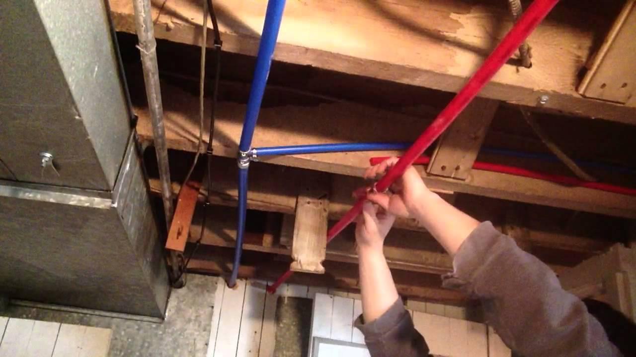 DIY pex tubing uncoiler for under $20 by David Patrick