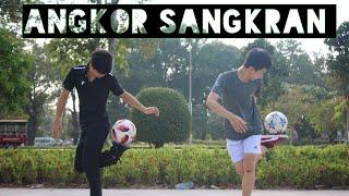 Insane Khmer New Year Freestyle skills ft Vathana [Camdodian Freestylers]