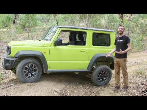 2019 Suzuki Jimny On And Off-road Review