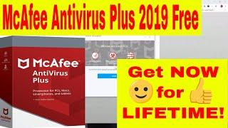 mcAfee Antivirus Plus 2019 Full Version Free Lifetime Activation - McAfee License Key