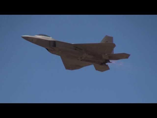 USAF F-22 Demoteam Raptor FIDAE2010