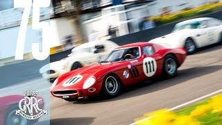 On board V12 Ferrari 250 GTO/64 racing at Goodwood