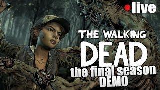 Gramy w THE WALKING DEAD FINAL SEASON [DEMO] || LIVE START 20:00 - Na żywo