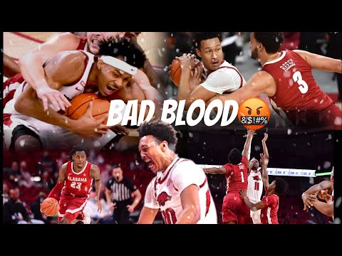 Arkansas And Alabama Show BAD BLOOD in Top 25 Matchup