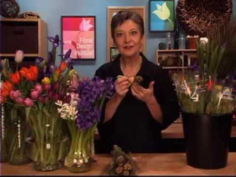 Sun Valley Hyacinth And Tulips Arranged By Leanne Kessler Of The
