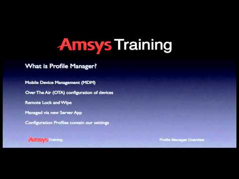 Mavericks Server Part 21: Profile Manager iOS Enrollment from YouTube · Duration:  8 minutes 3 seconds